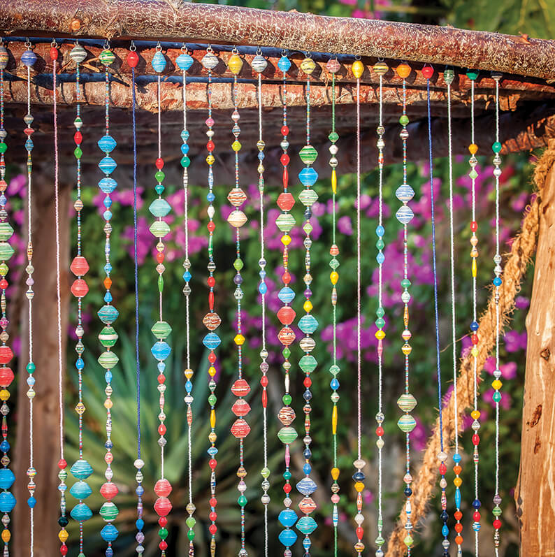 Bead Curtain Pazia Arty Product 502 A